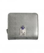 MUVEIL(ミュベール)の古着「3つ折り財布」|シルバー