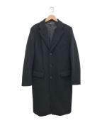 +J(プラス ジェイ)の古着「ウールブレンドチェスターコート」|ブラック