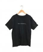YOHJI YAMAMOTO × NEW ERA(ヨウジヤマモト × ニューエラ)の古着「100周年記念プリントTシャツ」|ブラック