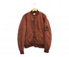 C.P COMPANY(シーピーカンパニー)の古着「MA-1ジャケット」|ボルドー