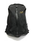 ()の古着「アロー16バックパック」 ブラック