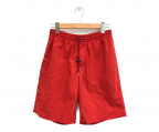DESCENTE(デサント)の古着「PAUSE MUSOU EASY SHORTS」 レッド