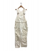 ()の古着「60'sヴィンテージオーバーオール」|ホワイト