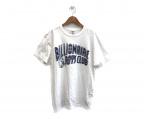 BILLIONAIRE BOYS CLUB(ビリオネアボーイズクラブ)の古着「プリントTシャツ」 ホワイト