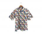 ()の古着「アロハシャツ柄プリント半袖シャツ」 マルチカラー