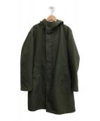 ()の古着「3WAYダブルクロスフーデッド コート」|オリーブ