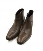 PADRONE(パドローネ)の古着「ショートブーツ」 ブラウン