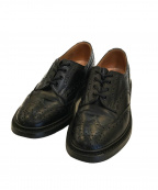 Tricker's(トリッカーズ)の古着「ウィングチップシューズ」 ブラック