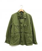 CORONA(コロナ)の古着「ファティーグシャツジャケット」|カーキ