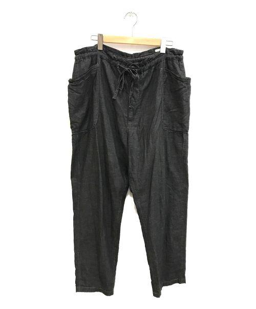 COMOLI(コモリ)COMOLI (コモリ) ベタシャンドローストリングパンツ グレー サイズ:3の古着・服飾アイテム