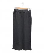 Americana(アメリカーナ)の古着「THERMAL スカート」|グレー