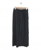 JOURNAL STANDARD L'essage(ジャーナルスタンダードレサージュ)の古着「プリーツペンシル スカート」|ブラック
