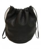 FILL THE BILL(フィルザビル)の古着「巾着バッグ」|ブラック