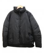 DESCENTE ddd(デザントディーディーディー)の古着「ヒートナビパフダウンジャケット」|ブラック
