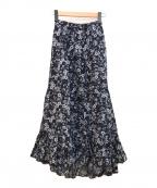 MARIHA(マリハ)の古着「海辺のスカート」|ネイビー