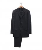 COMME des GARCONS HOMME DEUX(コムデギャルソン オム ドゥ)の古着「セットアップ3Bスーツ」|グレー