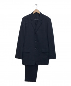 COMME des GARCONS HOMME DEUX(コムデギャルソン オム ドゥ)の古着「セットアップ3Bスーツ」|ブラック