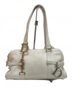 Christian Dior(クリスチャン ディオール)の古着「ボストンバッグ」|ホワイト