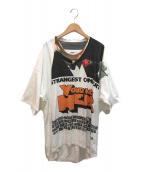 ()の古着「CAPSULETOY COMPRESSED T-SHIRT」 ホワイト