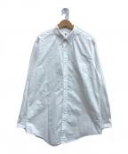 LE()の古着「ボタンダウンシャツ WIDE」 ホワイト