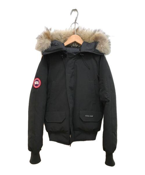 CANADA GOOSE(カナダグース)CANADA GOOSE (カナダグース) チリワックダウンジャケット ブラック サイズ:XSの古着・服飾アイテム