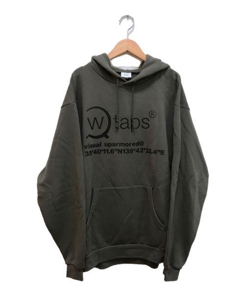 WTAPS(ダブルタップス)WTAPS (ダブルタップス) 20AW  OG HOODED SWEATSHIRT カーキ サイズ:04の古着・服飾アイテム