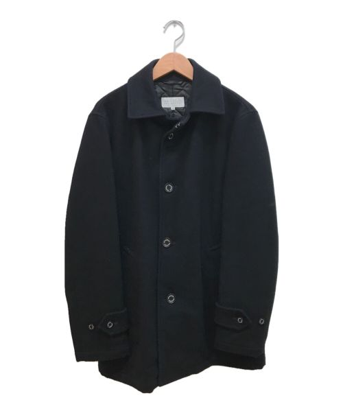 MACKINTOSH PHILOSOPHY(マッキントッシュフィロソフィー)MACKINTOSH PHILOSOPHY (マッキントッシュフィロソフィー) ステンカラーコート ネイビー サイズ:38の古着・服飾アイテム