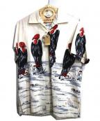 Star OF HOLLYWOOD(スターオブハリウッド)の古着「プルオーバーシャツ」|ベージュ