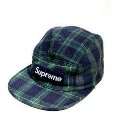 Supreme(シュプリーム)の古着「キャンプキャップ」 グリーン