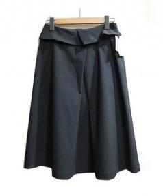stefis(シュテフィス)の古着「チルドライタックスカート」|ブラック