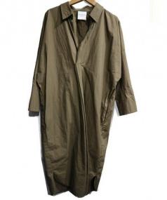 RAY BEAMS(レイビームス)の古着「BIGシルエットシャツ」 オリーブ