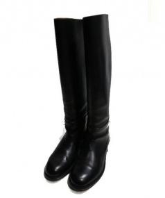 CELINE(セリーヌ)の古着「ロングブーツ」|ブラック