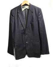 N.HOOLYWOOD(エヌハリウッド)の古着「ノッチドラペル2Bセットアップ」|ブラック