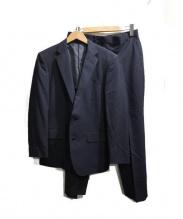 mackenzie(マッケンジー)の古着「super 100sウールスーツ」|ブラック