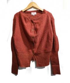 Vivienne Westwood RED LABEL(ヴィヴィアンウエストウッド レッドレーベル)の古着「ニットカーディガン」|ブラウン