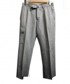 INCOTEX x BEAMS F(インコテックス ビームス)の古着「ウールパンツ」|グレー