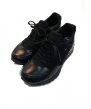 asics(アシックス)の古着「ランニングスニーカー」|ブラック
