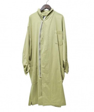 cardofabrica(カルドファブリカ)の古着「ショールカラージップコート」|オリーブ