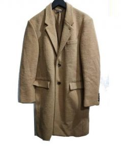 MONKEY TAIME(モンキータイム)の古着「RING YARN 2B CHESTER」|キャメル