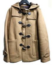 LONDON Tradition(ロンドン トラディション)の古着「ショートダッフルコート」 ベージュ