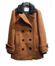 LAGUNA MOON(ラグナムーン)の古着「WideカラーPコート」|ブラウン