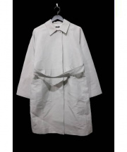 JIL SANDER NAVY(ジルサンダー ネイビー)の古着「ベルトつきコート」|ベージュ