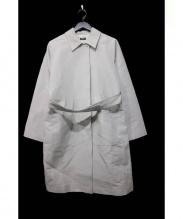 JIL SANDER NAVY(ジルサンダー ネイビー)の古着「ベルトつきコート」 ベージュ