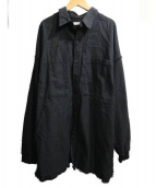 WHITELAND BLACKBURN(ホワイトランドブラックバーン)の古着「Chenging Shirts」|ブラック
