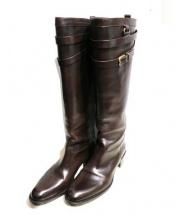 SARTORE(サルトル)の古着「ベルトロングブーツ」 ブラウン