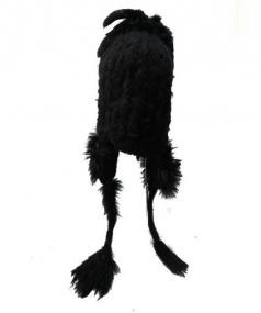 IF SIX WAS NINE(イフシックスワズナイン)の古着「BLACK PARADISE BIRD SLAB」|ブラック