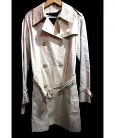 MACKINTOSH(マッキントッシュ)の古着「綿麻トレンチコート」|ベージュ
