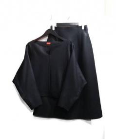 DES PRES(デプレ)の古着「ウールセットアップ」|ブラック