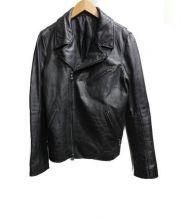 SHELLAC(シェラック)の古着「カウナッパランライダースジャケット」