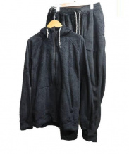 HOSU×UMBRO(ホスxアンブロ)の古着「ボアフリースセットアップ」|ブラック